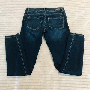 Juicy Couture Dark Rinse Skinny Jeans petite sz 2